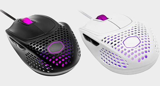 Новая мышь Cooler Master MM720 весит всего 49 г