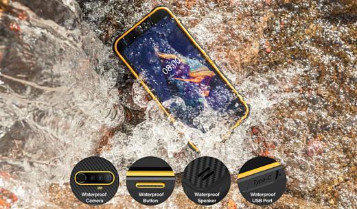 Ulefone представила недорогой защищенный смартфон Armor X8