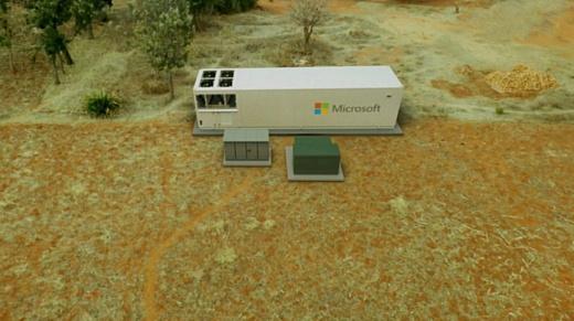 Microsoft создала передвижной дата-центр