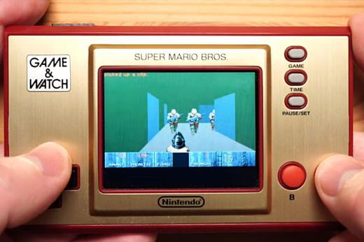 На новой Nintendo Game & Watch запустили Doom