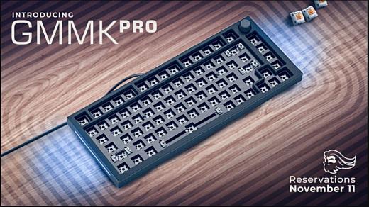 Glorious представила новую клавиатуру GMMK PRO
