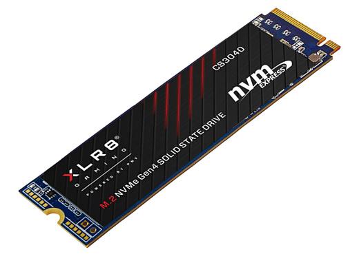 XLR8 CS3140 — новый сверхскоростной NVMe M.2 SSD от PNY