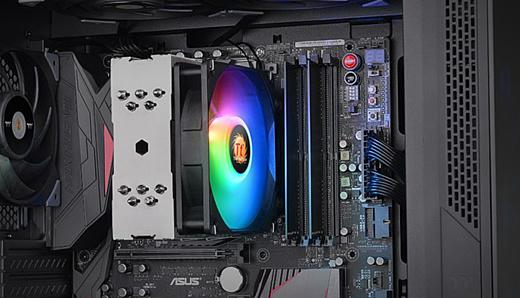 Thermaltake выпустила новый CPU-кулер UX210 ARGB за $40