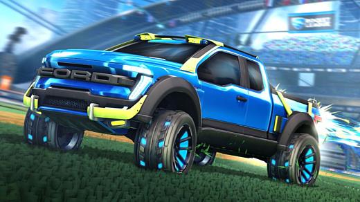 В Rocket League добавят Ford F-150