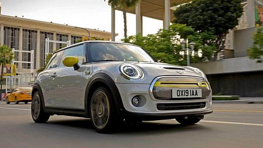 Mini намерена полностью перейти на электрические двигатели к 2030 году