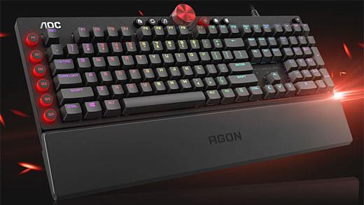 AOC выпустила несколько геймерских мышей и клавиатур