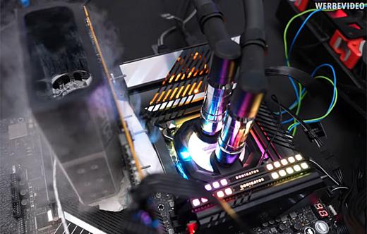 Видеокарту PowerColor RX 6900 XT Liquid Devil Ultimate разогнали до 3.2 ГГц