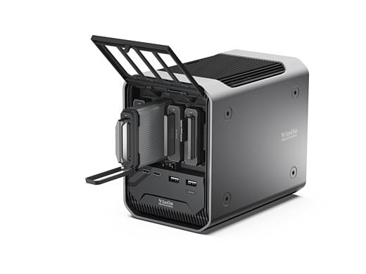 SanDisk выпустила мощную док-станцию Pro-Dock 4