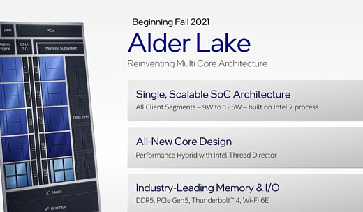 Intel Alder Lake Core i9 скоро появится в игровых ноутбуках