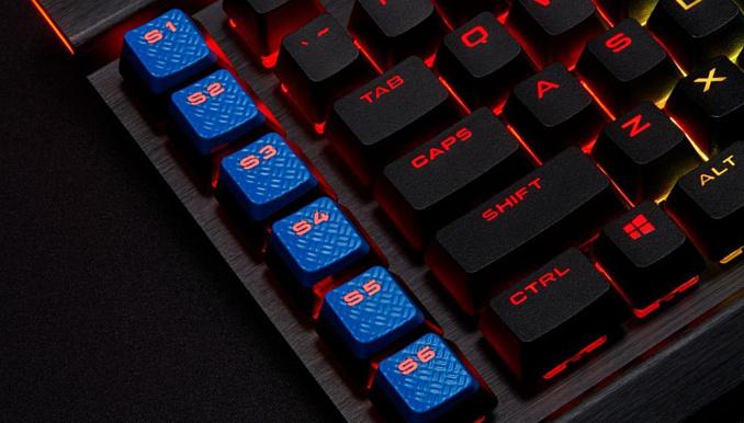 Новая клавиатура Corsair K95 XT получила кнопки для управления Elgato Stream Deck