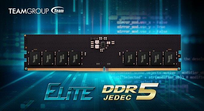 TEAMGROUP представила оперативную память ELITE Series DDR5 стоимостью от $400