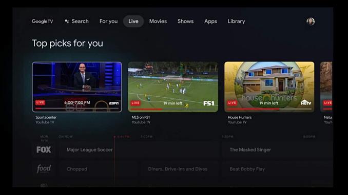 Google TV: появятся бесплатные каналы с рекламой