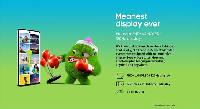 В Индии дебютировал ультратонкий Samsung Galaxy M52 5G