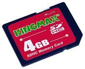Kingmax SDHC 4GB Class 6