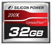Silicon Power 200X Professional Compact Flash Card 32GB