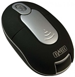 Sweex MI400V2 Mini Wireless Optical Mouse Black-Silver USB
