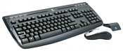 Logitech Cordless Desktop Internet 1500 Black-Silver USB