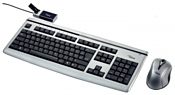 Fujitsu-Siemens Wireless Keyboard LX850 Silver-Black USB
