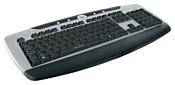 Oklick 370M Multimedia Keyboard Black-Silver USB+PS/2