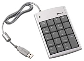 Targus Mini Keypad with Hub PAKP004E Silver USB