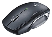 Logitech NX80 Cordless Laser Mouse for Notebooks Black USB
