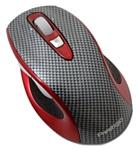 Prestigio Wireless Racer mouse Grey-Red USB