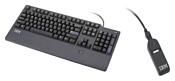 Lenovo Fingerprint Keyboard Black USB