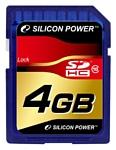 Silicon Power SDHC Card 4GB Class 10