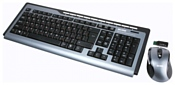 ACME Wireless Keyboard and Mouse Set WS02 Black USB