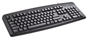 Trust ClassicLine Keyboard Black USB
