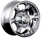 Racing Wheels H-154 7x15/5x139.7 D110.5 ET0 Chrome