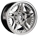 Racing Wheels H-152 7x15/5x139.7 D110.5 ET13 Chrome