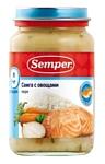 Semper Семга с овощами, 200 г