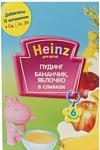 Heinz Бананчик, яблочко в сливках, 200 г