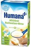 Humana Гречневая молочная с грушей, 250 г