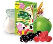 Heinz Многозерновая фруктово-молочная яблоко, малина, черная смородина, 200 г