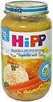 HiPP Нежные овощи с индейкой, 220 г