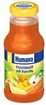 Humana Фруктовый (яблоко, банан, персик, апельсин) с морковью, 250 мл