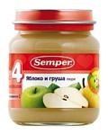 Semper Яблоко и груша, 135 г