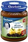 Gerber Яблоко, чернослив, 130 г
