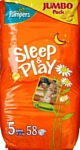 Pampers Sleep & Play 5 Junior (12-25 кг) Jumbo Pack 58 шт