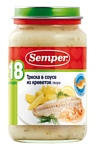 Semper Треска в соусе из креветок, 200 г