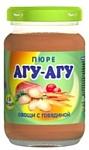 АГУ-АГУ Овощи с говядиной, 165 г