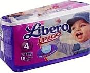 Libero Up&Go 4 Maxi 7-11 кг 18 шт