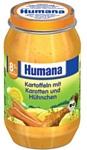 Humana Картофель c морковью и цыплёнком, 220 г