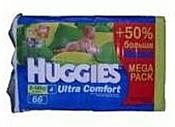 Huggies Ultra Comfort 4 (8-14кг) Mega Pack 66шт