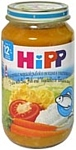HiPP Макароны с морской рыбой и овощами в томатном соусе, 220 г