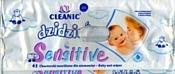Cleanic Baby Sensitive dzidzius, 72 шт