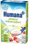 Humana Рисовая молочная с клубничным йогуртом, 250 г