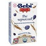 Bebi Premium Рис чернослив, 200 г